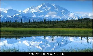 Нажмите на изображение для увеличения Название: Reflections, Mount McKinley, Denali National Park, Alaska.jpg Просмотров: 176 Размер:583.9 Кб ID:15395